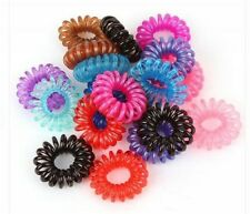 Spiral Slinky Hair Head Bands Elastics Bobbles Ties Scrunchies Accessories