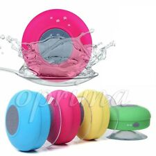 Bluetooth Wireless Speaker Mini Waterproof Suction Shower For iPhone Samsung Mic