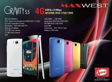 "Maxwest Gravity 5.5"" screen, Android 4.4KitKat, Unlocked GSM, 5 different Colors"