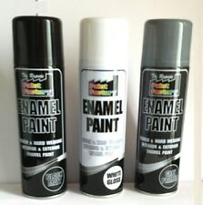 ENAMEL PAINT SPRAY CAN USE FOR TOUGH & HARD WEARING INTERIOR & EXTERIOR