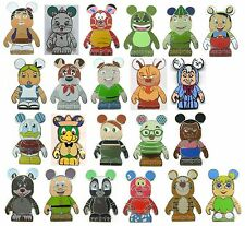 DISNEY PIN VINYLMATION ANIMATION #1 & #2 with MYSTERY CHASERS COMPLETE YOUR SET