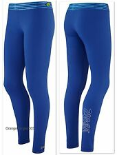 "ZUMBA FITNESS ""Have a Blast Blue"" Leggings ~Yoga Crossfit Running Cycling  S M"