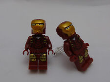 Hand Made NOVELTY IRON MAN CUFFLINKS ~ made using BRICK Compatible pieces