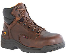 """Mens Timberland PRO 50508 Titan 6"""" Composite Safety Toe Work boot Brown (E,W)"""