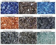 SPECIAL DEAL FIREGLASS - 9 COLORS TO CHOOSE 10 LBS Glass for Fireplace Fire Pit