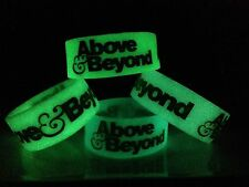 ABOVE & BEYOND DJ GLOW in the DARK Concert Wristband ANJUNABEATS EDM EDC ULTRA