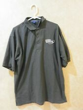 Nascar Technical Institute Gray Polyester Polo Shirt ________hang