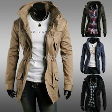 Mens Stylish Slim Fit Sexy Top Designed Hoodies Jackets Coats M2142 GBW