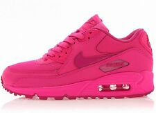 NIKE WOMENS GIRLS AIR MAX 90 2007 GS Hyper Pink running sneakers new RARE LTD
