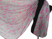 Horse Print Animal Scarf Long / Infinity Scarves Women's Accessories Soft