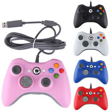 Wired Official Console Game Remote Controller Pad For Xbox 360 & PC US