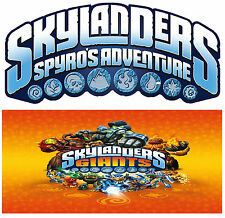 SKYLANDERS *SPYRO'S & GIANTS* Series Figures (All work on SWAP FORCE+TRAP TEAM)