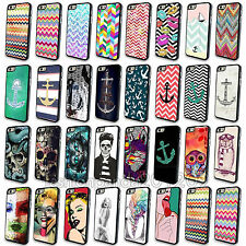 Hot Cute Funny Skull Painted Animal Anchor Case Cover Skin For iPhone 4S 5 5S 5C