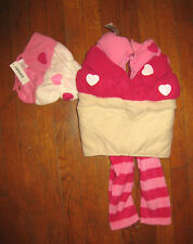 Girls Old Navy Cupcake Halloween 2-Piece Costume New With Tags NWT