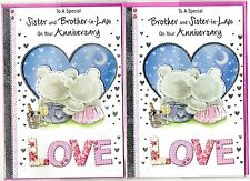 Sister and Brother In Law/Brother and Sister In Law Anniversary Card