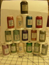 Yenmet Metallic Machine Embroidery Thread - Various Colors - You Choose
