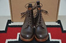 Julian Made in USA St James Brown Leather Ankle Boots RRL Bowery