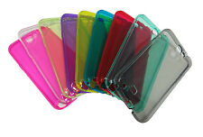 TRANSPARENT CLEAR SILICONE GEL SKIN SLIM CASE COVER FOR SAMSUNG GALAXY NOTE 2