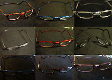 MAGNETIC READING GLASSES-NAME BRAND QUALITY 1.00, 1.50, 2.00, 2.50, 3.50, 4.00