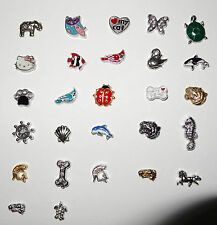 Mascot Pet Animal Floating Charms  Fit Origami Owl Living Lockets Ships from USA