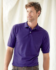 JERZEES Mens SpotShield 50/50 Polo Sport Shirt 437MSR S-3XL Cotton/Polyester