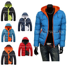 2014 Mens Winter Warm Jacket Hooded Wadded Coat Thicken Outerwear Male Slim GBW