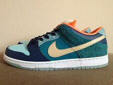 New DS Nike Dunk Low Premium SB QS MIA Skate Shop Blue sz 8.5 streetwear sneaker