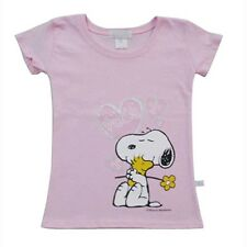 Tennessee Volunteers Girls Youth Snoopy Fitted T-shirt - Pink