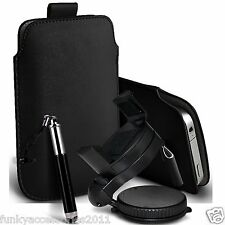 Accessory Pack Pull Tab Pouch Case Mini Retractable Stylus Pen Swivel Car Holder