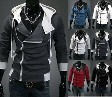 New Assassin's Creed 3 Desmond Miles Hoodie Fashion Jacket Costume Coat Cosplay