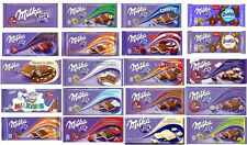 Milka Alpine Milk Chocolate Bars 25 Different Flavors Choose Your Favorites 100g