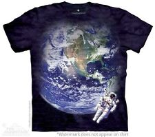 Astro Earth Kids T-Shirt from The Mountain. Space Boy Girl Child Sizes NEW