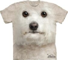 Bichon Frise Kids T-Shirt from The Mountain. Dogs Boy Girl Child Sizes NEW