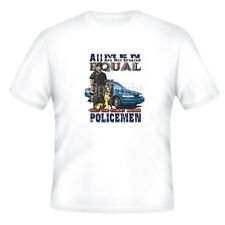 Fire Ems Police T-shirt All Men Not Created Equal Only Finest Become Policemen