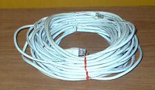 White Ethernet Cord RJ45 Cat5e Cable Approx. 10ft 50 ft - Free Shipping!