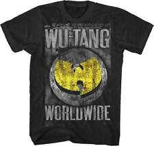 OFFICIAL Wu-Tang Clan - Worldwide T-shirt NEW Licensed Band Merch ALL SIZES