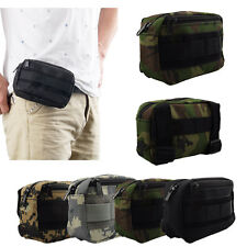 Multicam Waterproof MOLLE Army Camo Waist Gunner Pouch Utility Ammo Dump Pouch