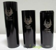 A-Mod Clone Cartel Mod Black Stainless Steel Mechanical 18650/18500/18350 Tubes