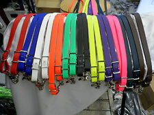 10 ft. Beta Biothane Endurance/Loop Reins w/ Snaps & Conways! Colors! FREE SHIP!