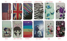 For HTC / Nokia smartphone Wallet cute cartoon Magnetic flip Leather case cover