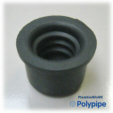 Polypipe WP73 32mm Rubber pushfit Reducer to Overflow & Copper Condense Pipe