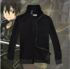 2014 Unisex Anime SAO Sword Art Online Clothing Cosplay Sweater Hoodie cotton