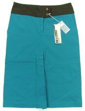 """ROBERTO CAVALLI """"Petrol"""" womens midi skirt pencil (turquoise) new with defects"""