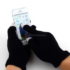 Unisex Magic Touch Screen Gloves Smartphone Testing Stretch Winter Knit WS