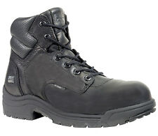 "Mens Timberland PRO 50507 Titan 6"" Composite Safety Toe Work boot Black (E,W)"