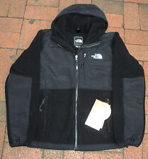 THE NORTH FACE WOMENS DENALI HOODIE FLEECE JACKET- #ANLN -S, M -BLACK-NEW