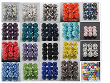 Wholesale 10MM CZ Crystal Pave Disco Ball Shamballa Beads For Europe Bracelets