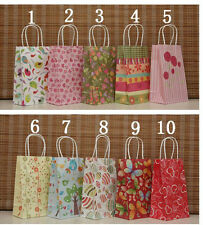 10Pcs Gift bag For Birthday Wedding Gift Paper Bags Packaging bags 21*13*8CM