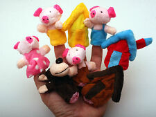 Nursery Rhymes Finger puppets 12 Types Story Telling Fairy Tales Soft Toy