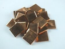 10pcs Multi-class size Copper Cooling Pad Shim laptop CPU Notebook Graphics